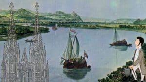 Rin, Siebengebirge y catedral de Colonia