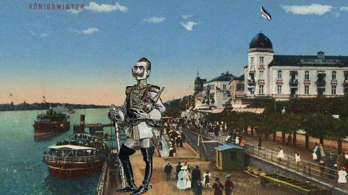 Siebengebirge historia, Imperio Alemán, era Guillermo II