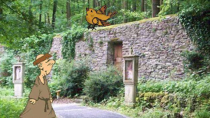 Cuentos del Siebengebirge, el Monje de Heisterbach