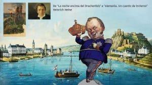 Siebengebirge historia, Renania prusiana, rey Federico Guillermo IV, Coblenza
