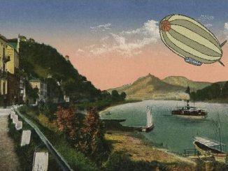 Siebengebirge historia, Republica de Weinar, Rolandseck, Rin y Siebengebirge a principios del siglo XX