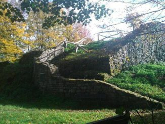 Montaña Rosenau, ruina medieval, Siebengebirge, Königswinter