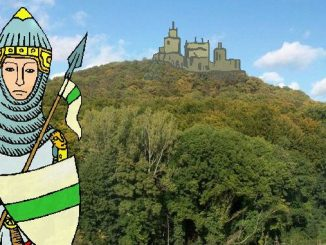 Siebengebirge historia, Edad Media, castillo Wolkenburg