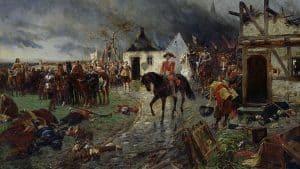 Siebengebirge historia, temprana edad moderna, general Wallenstein