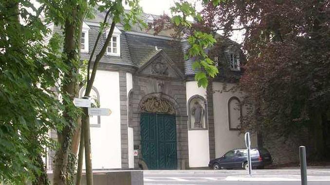 Abadía de Heisterbach, portal