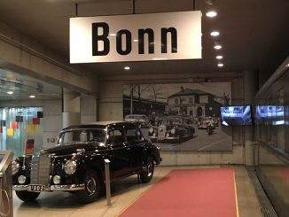 El coche oficial del Canciller Adenauer, Haus der Geschichte, Bonn