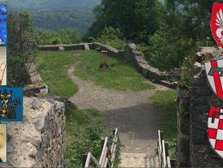 Castillo Löwenburg, emperadores y blasones