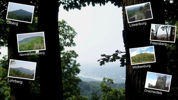 Vista del Geisberg hacia el valle del Rin