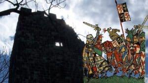 Castillo Drachenfels, Juan I de Brabante, Worringen 1288