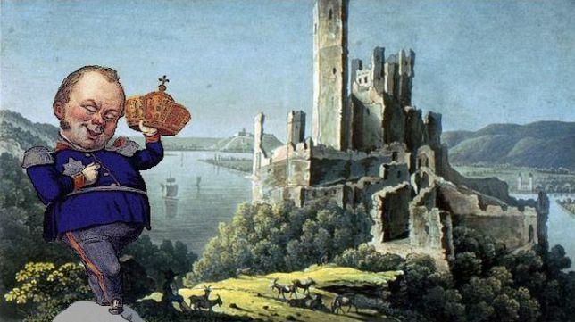 Federico Guillermo IV, Castillo Stolzenfels