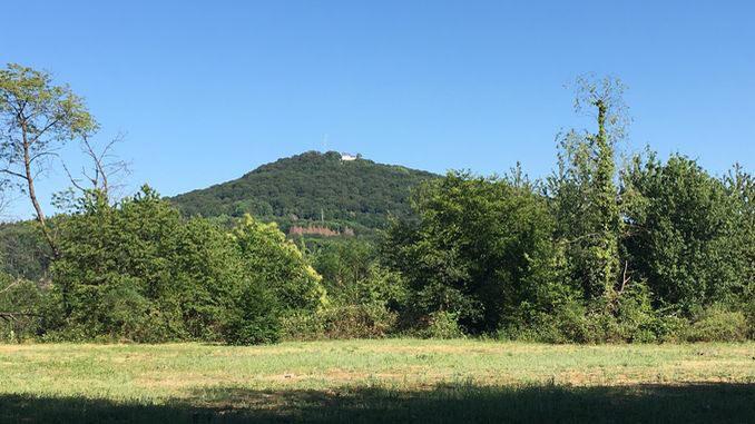 Ölberg, vista del Stanzelberg